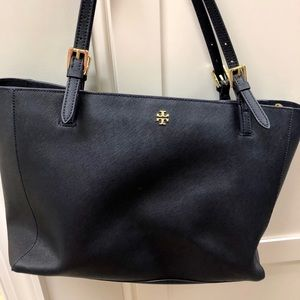 Tory Burch Navy Large York Tote